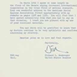 Letter: 1959 March 11
