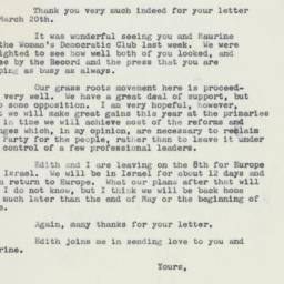 Letter: 1959 March 25
