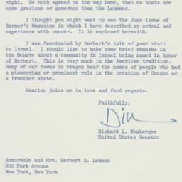 Letter: 1959 June 15
