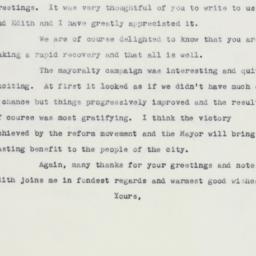 Letter: 1961 December 26