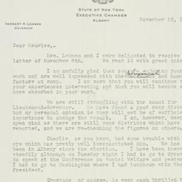 Letter: 1942 November 12