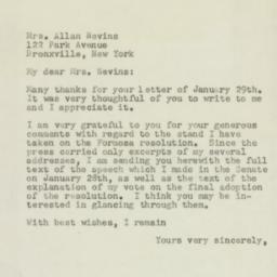 Letter : 1955 February 2