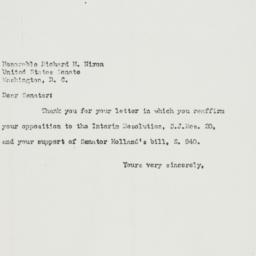 Letter : 1951 March 29