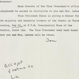 Note : 1954 May 7