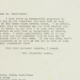 Letter : 1948 January 19