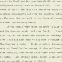 Letter : 1960 February 15