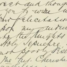 Letter : 1931 January 24