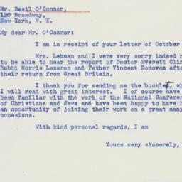 Letter : 1941 November 3