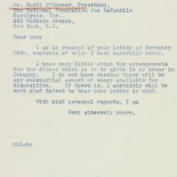 Letter : 1942 November 27