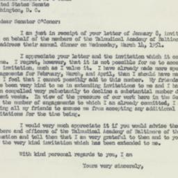 Letter : 1951 January 11