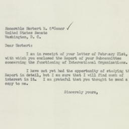 Letter : 1951 February 28