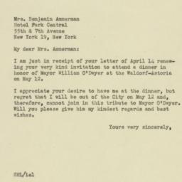 Letter : 1946 April 18