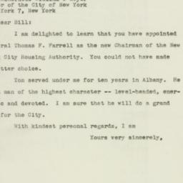 Letter : 1947 May 6