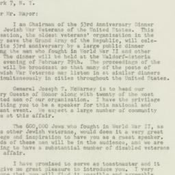 Letter : 1948 January 16