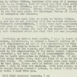 Letter : 1951 April 20
