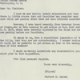 Letter : 1951 October 16