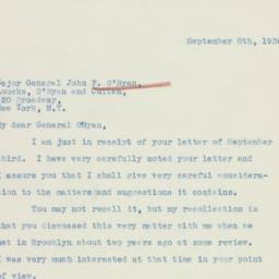 Letter : 1936 September 8