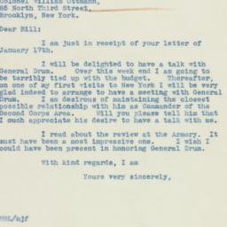 Letter: 1939 January 19