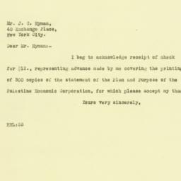Letter: 1925 September 24