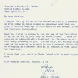 Letter : 1955 November 5