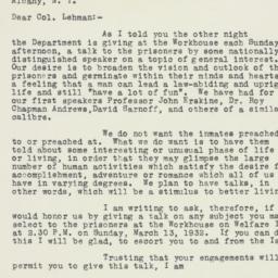 Letter : 1932 January 27