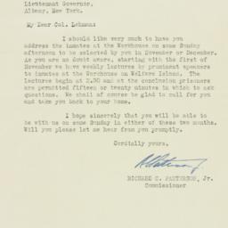 Letter : 1932 September 29