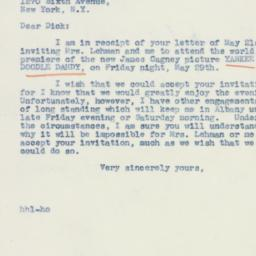 Letter : 1942 May 25