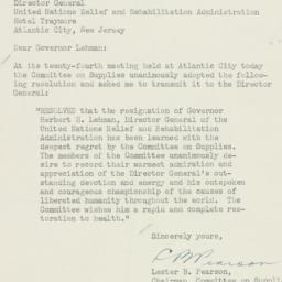 Letter : 1946 March 25