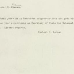 Letter : 1948 September 11