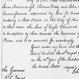 Document, 1796 August 30