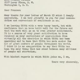 Letter : 1946 April 1