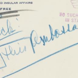Envelope : 1950 August 25