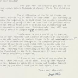Letter : 1952 January 25