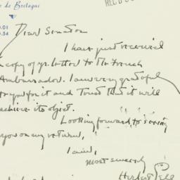 Letter : 1955 July 3