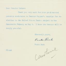 Letter : 1950 April 2