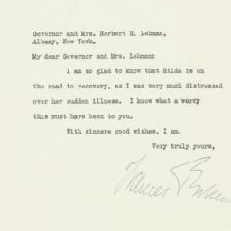 Letter: 1933 July 7