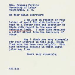 Letter: 1941 April 12