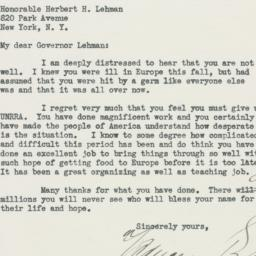 Letter: 1946 March 23