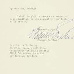 Letter: 1950 October 13