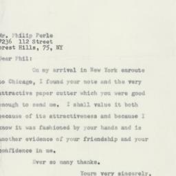 Letter : 1956 August 9