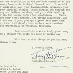 Letter : 1952 August 4