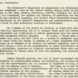 Letter : 1952 October 22