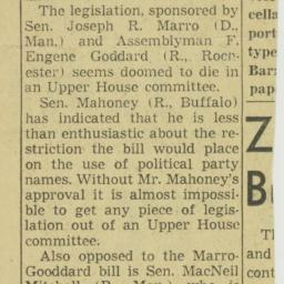 Clipping : 1960 February 12