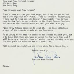 Letter : 1956 December 26