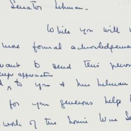 Letter : 1957 January 31
