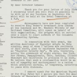Letter : 1941 August 8