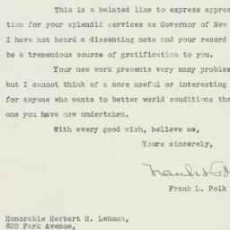 Letter : 1942 December 16