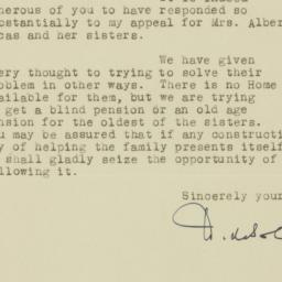 Letter : 1933 May 28