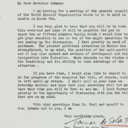 Letter : 1938 February 25