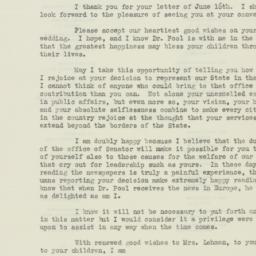 Letter : 1938 June 24